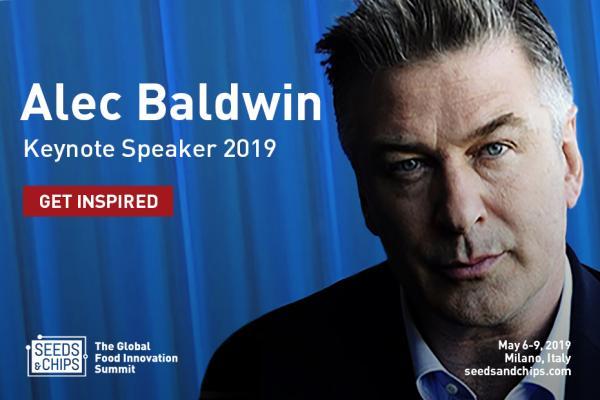 Alec Baldwin - Seeds&Chips 2019